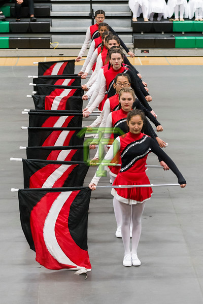 Redwood MIddle School Color Guard