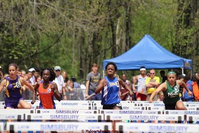 Girls 100m Hurdles Finals