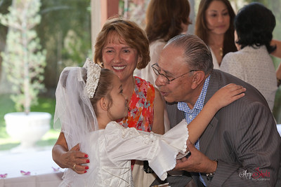 Gabriela Emma Guzman 1st Communion = Reception