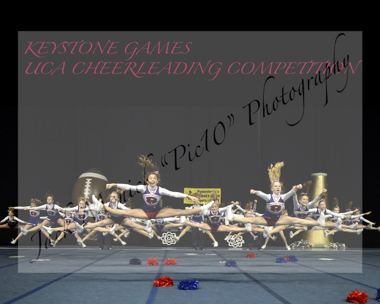2013 KeystoneGames/UCA Cheerleading