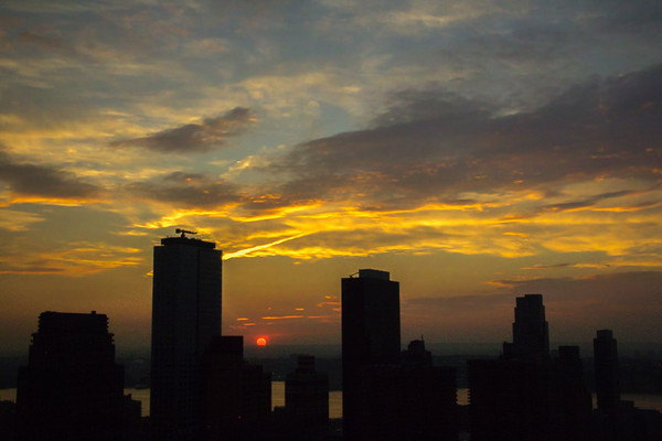 October 4 - New York sunset.jpg