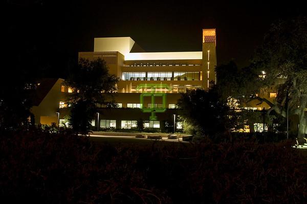 ADBF - Civic Arts Plaza at Night
