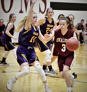 Osky 8th Grade Girls A Basketball Nov 12 2019 v Indianola