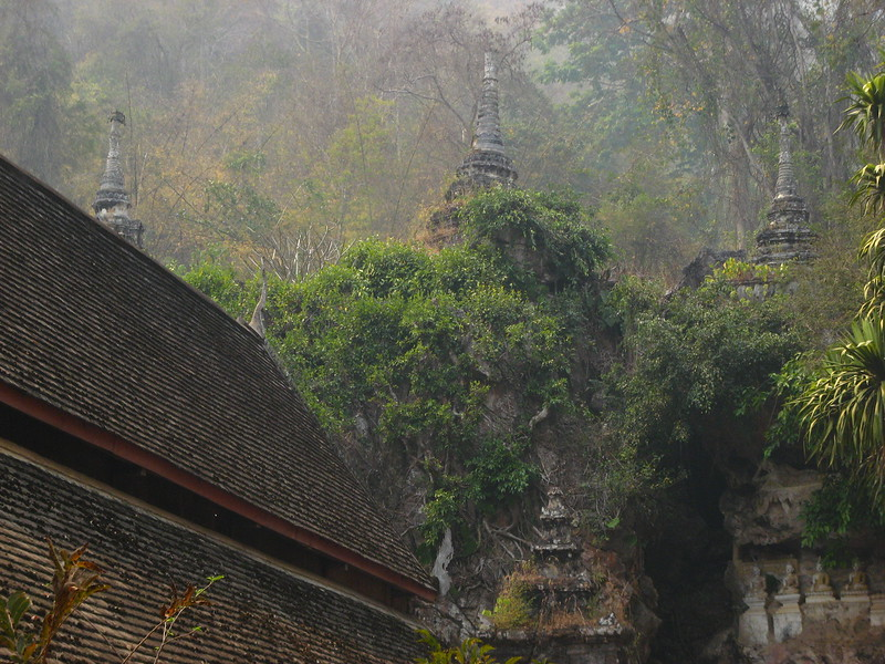 Temple at Chang Dow Cave