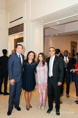 Honoring President Alpha Conde Houston TX