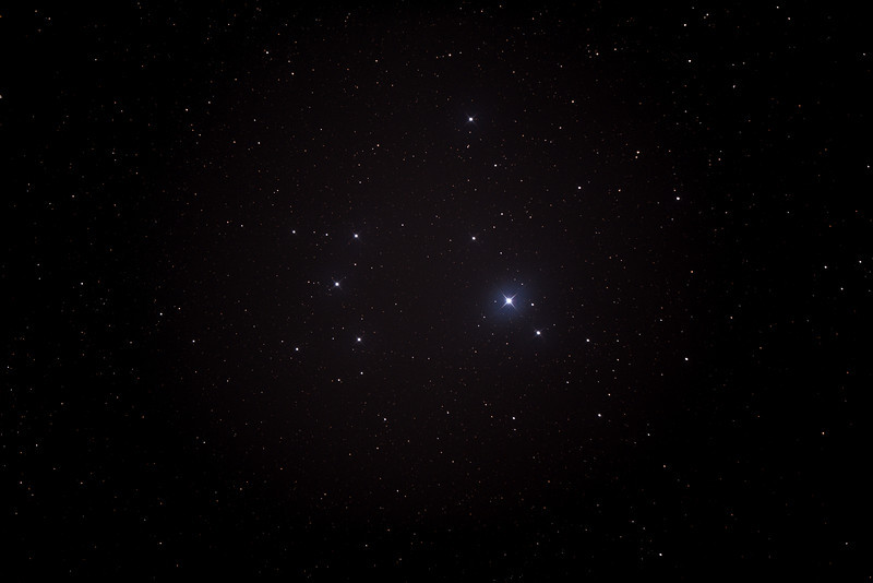 Caldwell 102 - IC2602 - Southern Pleiades or Theta Carina Cluster - 13/6/2014 (Processed stack)