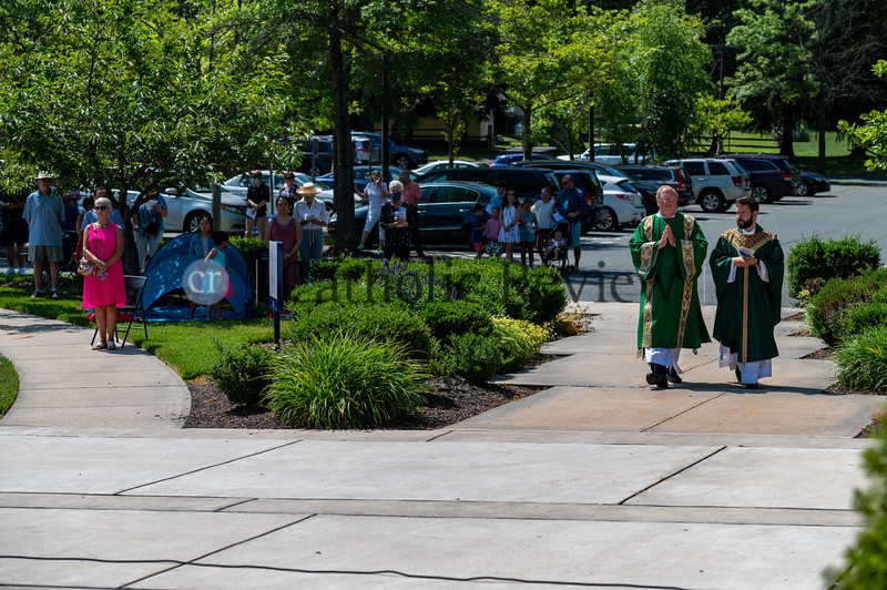 St. Mary Magdalen Mission Outdoor Mass