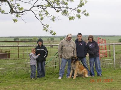 Family Reunion - 2007 (Ryan, OK)