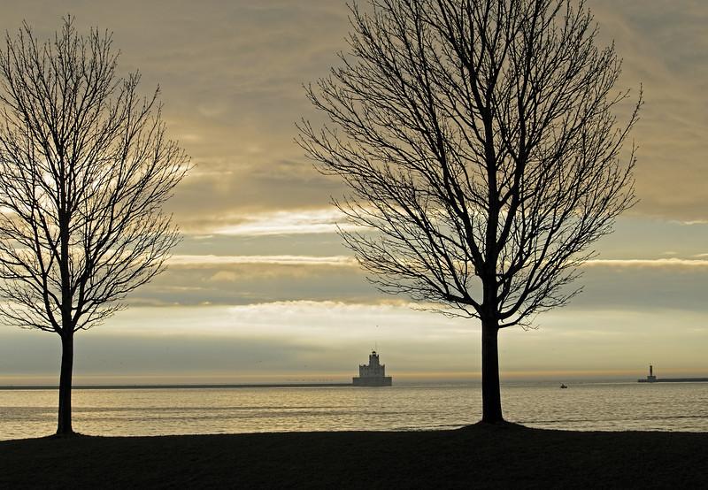 Lake Michigan, Port of Milwaukee