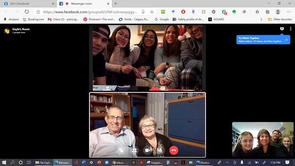 Jaroslawski family Zoom