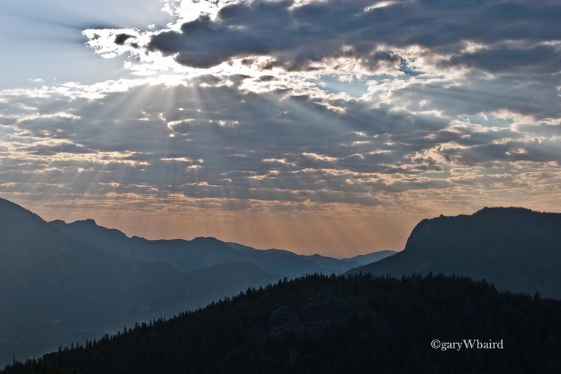 Rocky Mountain Sunburst