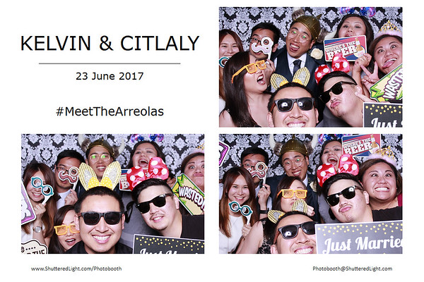 Kelvin and Citlaly Photobooth