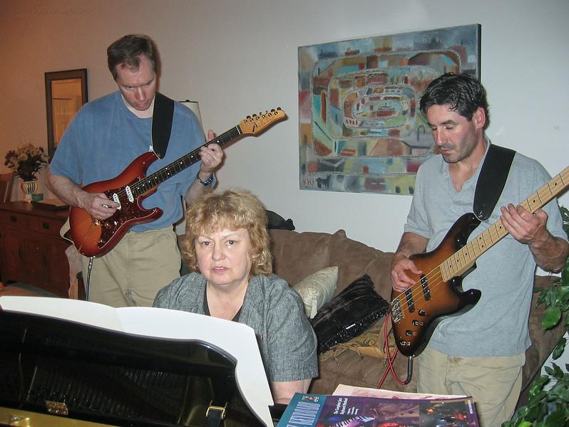 FL guitar, Shirley & Barry Lebin, Greensburg, PA. August 2003.
