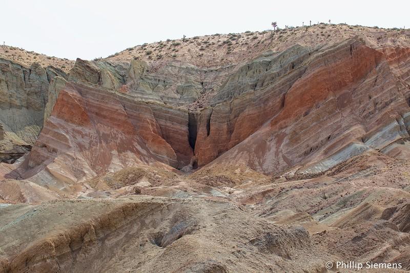 Rainbow Basin syncline