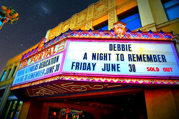 Debbie Reynolds Main-stage Renaming