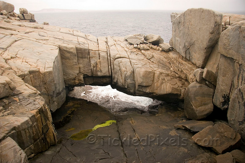 The Natural Bridge in Torndirrup National Park, near Albany