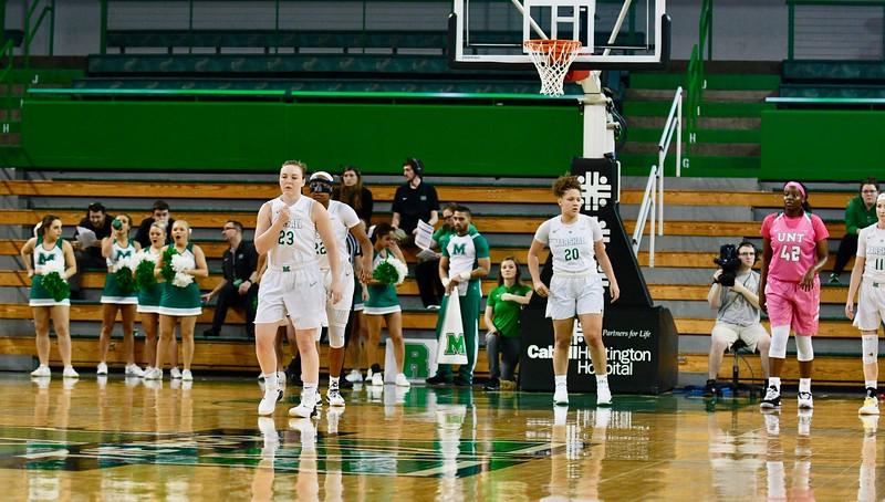 2.7.19 Marshall Women's Basketball vs UNT