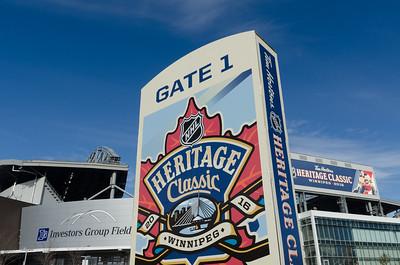 Heritage Classic Alumni Game - Winnipeg