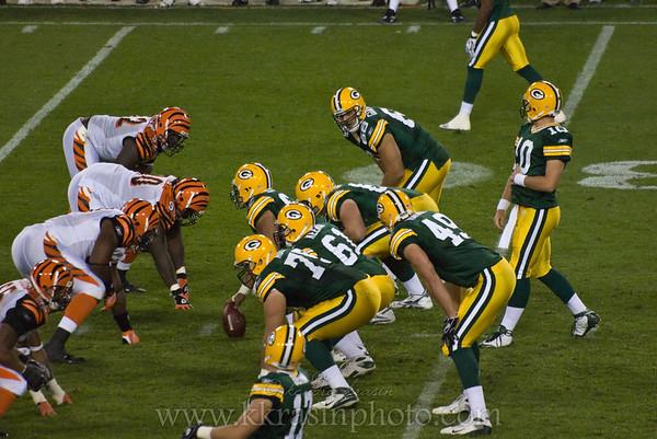 Packers vs. Bengals 2008