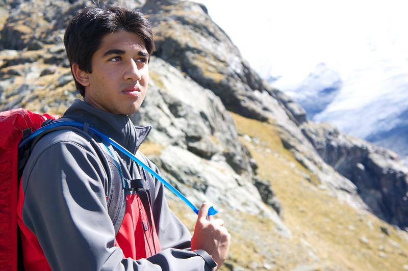Pranav reflecting