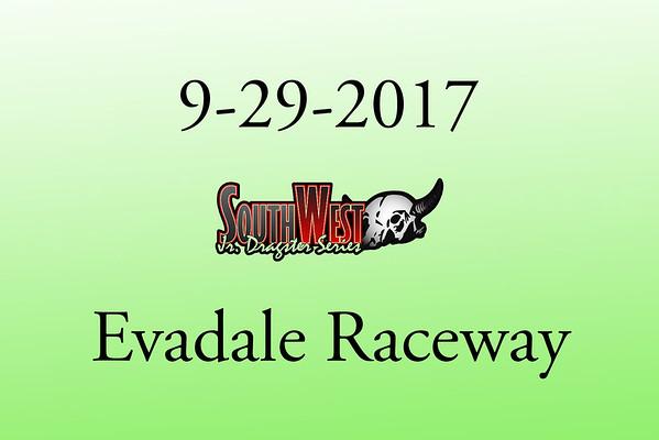 9-29-2017 Evadale Raceway 'Southwest Jr. Dragsters'