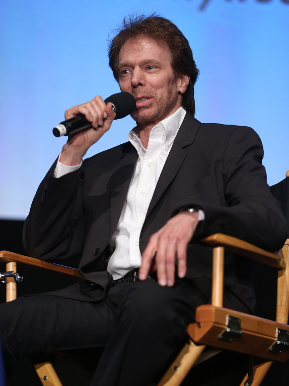 . Jerry Bruckheimer speaks on the second day of the 2013 Produced by Conference on Sunday, June 9, 2013 in Los Angeles. (Photo by Todd Williamson/Invision for Producers Guild/AP Images)