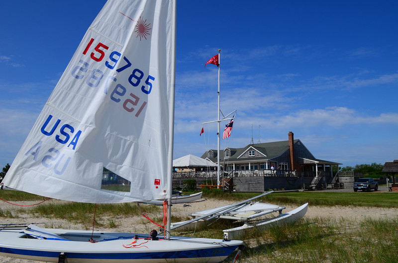 159785 in front of Sayville Yacht Club