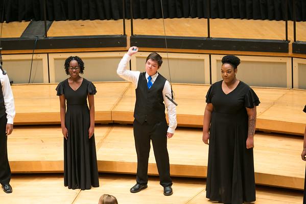 4. Northern High School Women's Choir