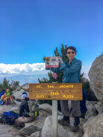 3-Peaks Challenge #1 - San Jacinto, July 23,2017