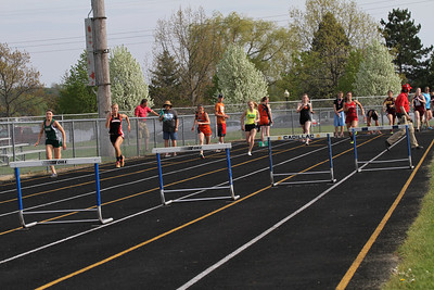 Cadillac News Meet Girls 300 Hurdles