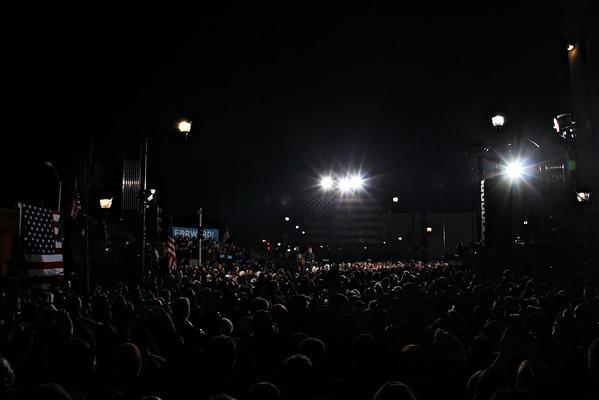 President Obama Rally