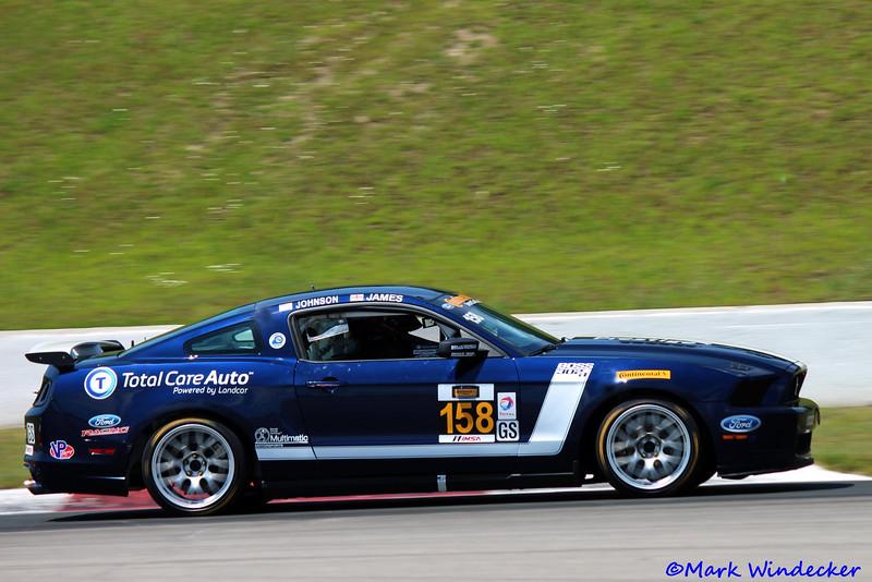 2nd GS Ian James/Billy Johnson Mustang Boss 302R