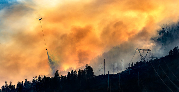Gallagher Lake Wildfire At Eagle Bluff 2019