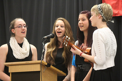 Tri-M Music Honor Society Inductions 2013