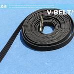 SKU: V-BELT/1360, Elastomeric Openloop Timing Belt with Clip of X-Axis for 1360mm V-Series Vinyl Cutter