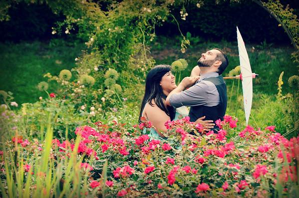 Alex and Mark's Garden E-Shoot