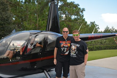Orlando Helicopter Sightseeing Ride 082415