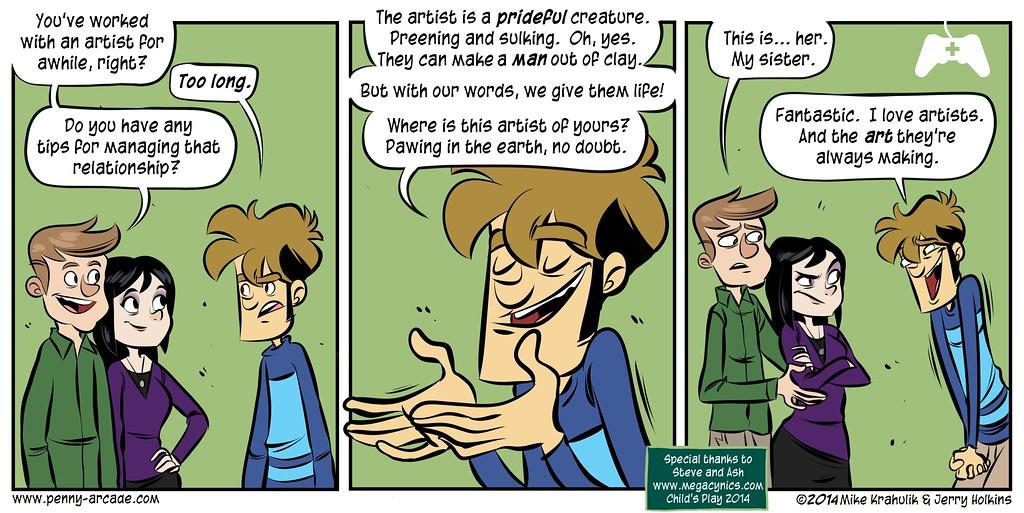 Child's Play Strip: MegaCynics