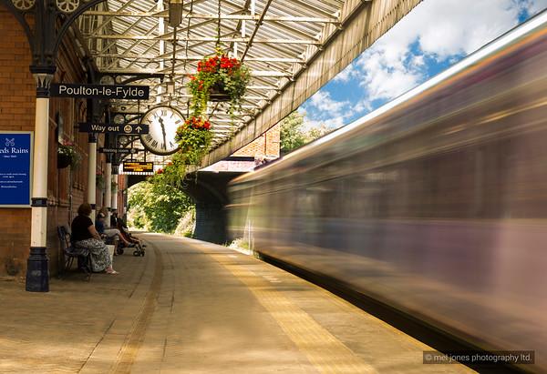 Poulton Station