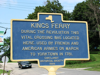 King's Ferry, east shore of the Hudson