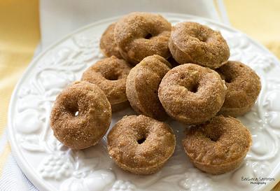 Apple Spice Baked Mini Doughnuts - Catalog #4027
