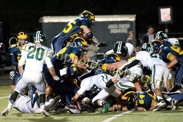 2013 Clarkston Varsity Football vs. Lake Orion