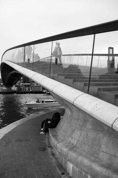 Ponte della Costituzione (Constitution Bridge) - Venice, Italy - April 18, 2014
