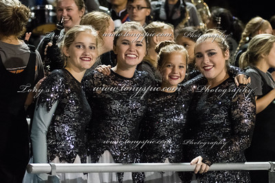 Band At heritage Game 7 oct 2016