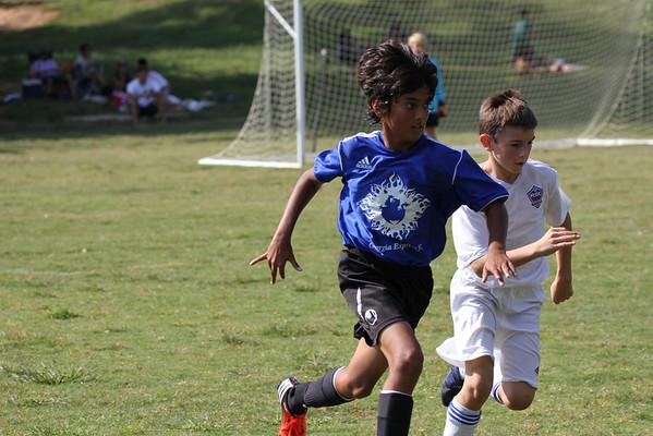 U12 Boys vs Roswell 9-22-2012