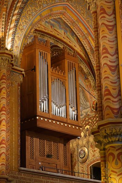 Pipe Organ - Matthias Church, Budapest