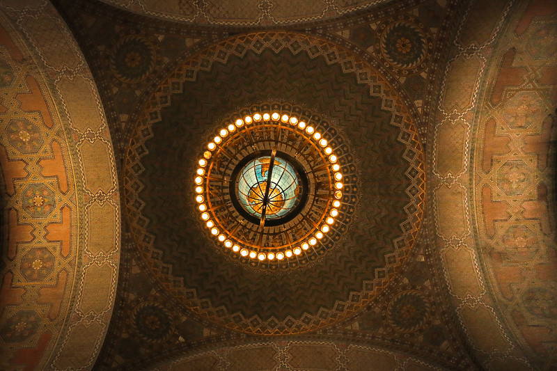 June 30 - Los Angeles Public Library rotunda.jpg