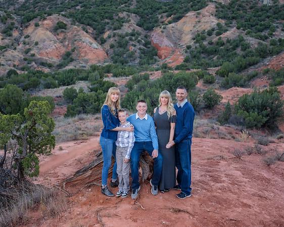 Katrina's family Palo Duro Canyon