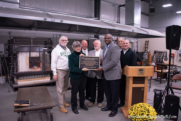 SCC Glass Center Dedication