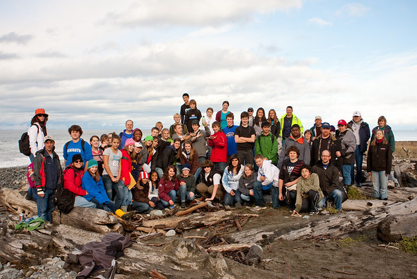 CPJH 8th and 9th Grade Dungeness Spit Fieldtrip